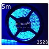 Taśma LED 5m 60led/m SMD 3528 niebieski
