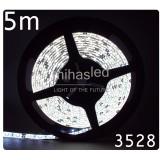 Taśma LED 5m 60led/m SMD 3528 biały zimny