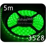 Taśma LED 5m 60led/m SMD 3528 zielony
