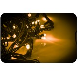Lampki choinkowe 100 LED żółty