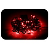 Lampki choinkowe 200 LED czerwony