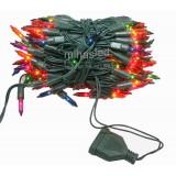 Lampki choinkowe tradycyjne 100 multikolor