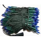 Lampki choinkowe tradycyjne 100 niebieski