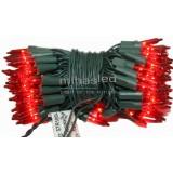 Lampki choinkowe tradycyjne 100 czerwony