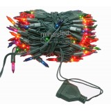 Lampki choinkowe tradycyjne 200 multikolor