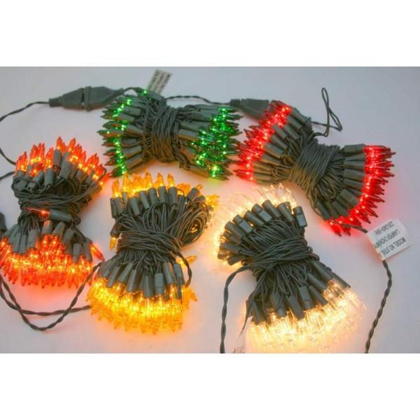 Lampki Choinkowe Tradycyjne 200 Niebieski Mihas Led